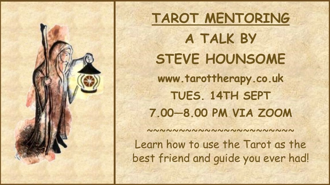 Tarot Mentoring with Steve Hounsome